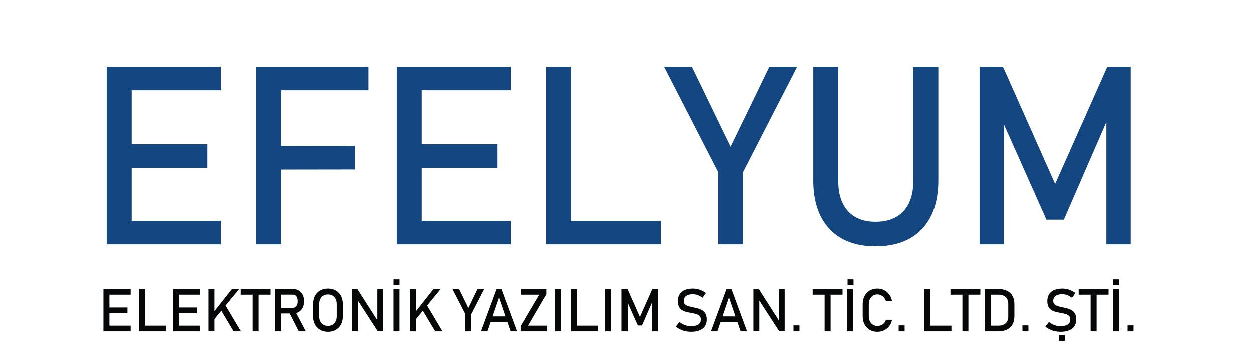 EFELYUM ELEKTRONİK YAZILIM SANAYİ VE TİCARET LTD.ŞTİ.